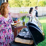 Backyard summer garden party with croquet | The Rose Table