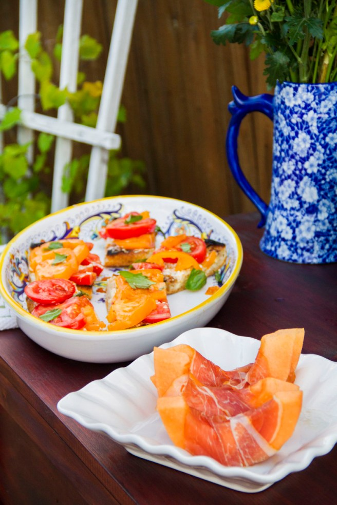 Summer Garden Party Side Dishes | The Rose Table