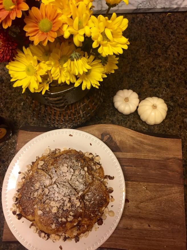 Pumpkin Pancake Recipe | The Rose Table