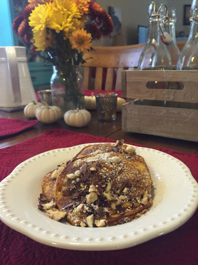 Healthy Pumpkin Pancake Recipe | The Rose Table