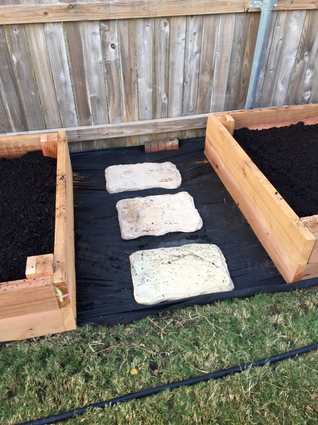 Raised Bed Garden Stones | The Rose Table