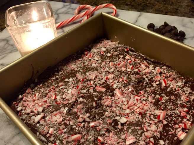Easy Peppermint Fudge Recipe | The Rose Table