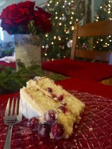 Fiori di Sicilia Cranberry Cake   The Rose Table