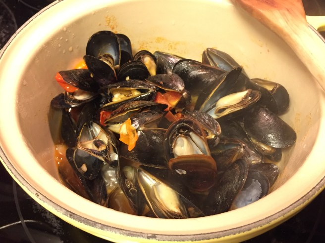 Steamed Mussels with Fresh Tomatoes and Parmesan | The Rose Table