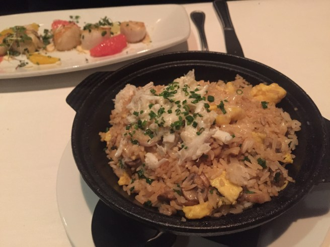 Eddie V's Review: Crab Fried Rice | The Rose Table