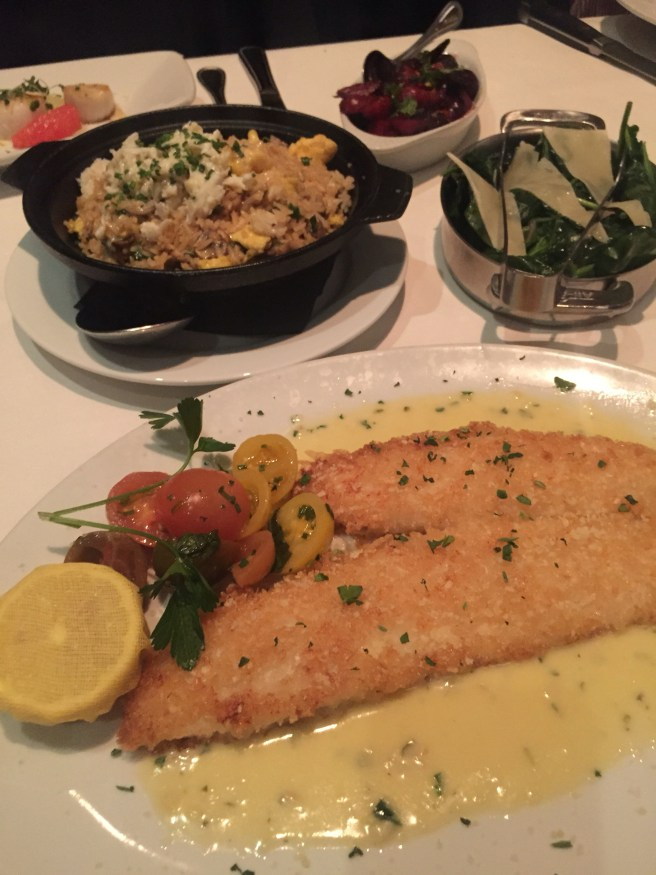 Eddie V's Review: North Atlantic Lemon Sole | The Rose Table