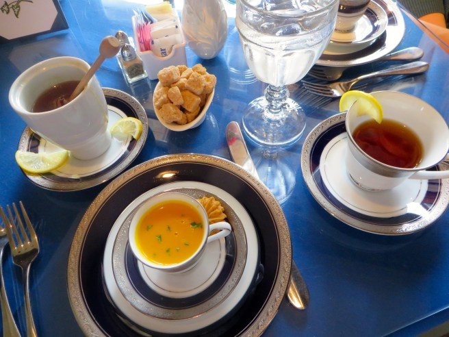 First Tea Course at Dallas Arboretum | The Rose Table