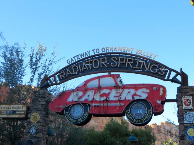 Radiator Springs Racers in Disney's California Adventure | The Rose Table