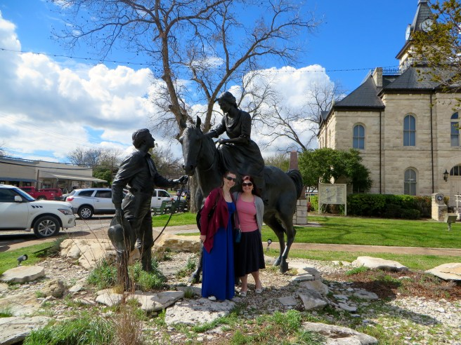 Barnard Statute Historic Glen Rose | The Rose Table