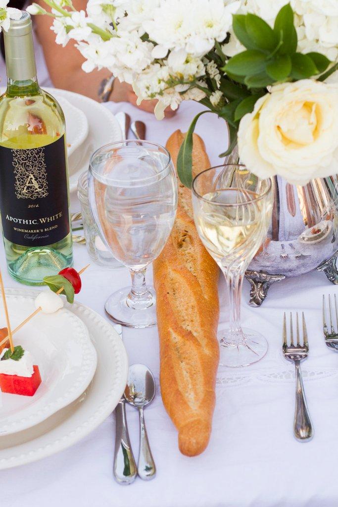Diner en Blanc Recipes | The Rose Table