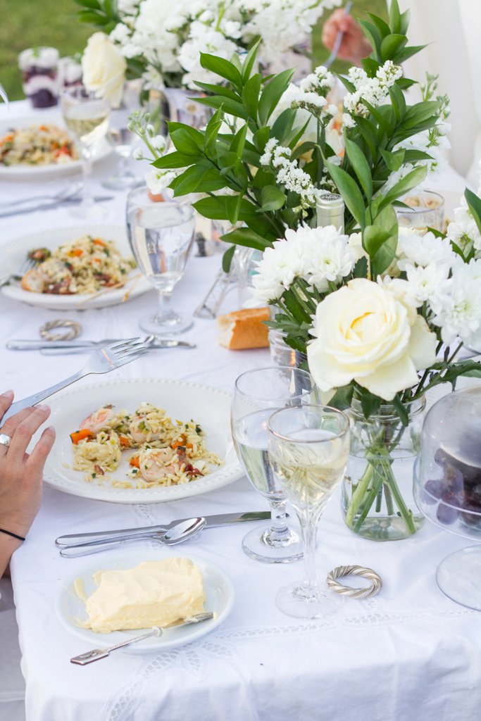 Diner en Blanc Picnic Recipes | The Rose Table