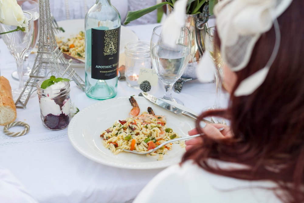 Grilled Shrimp and Veggie Orzo Salad | The Rose Table