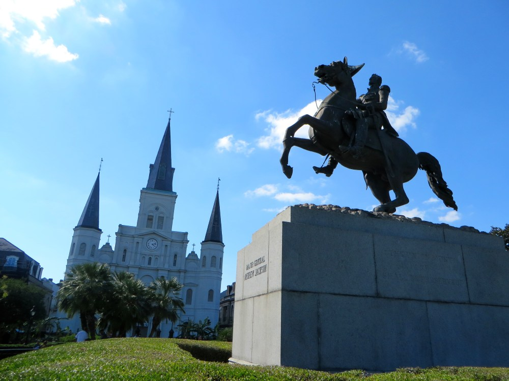 Jackson Square New Orlenas