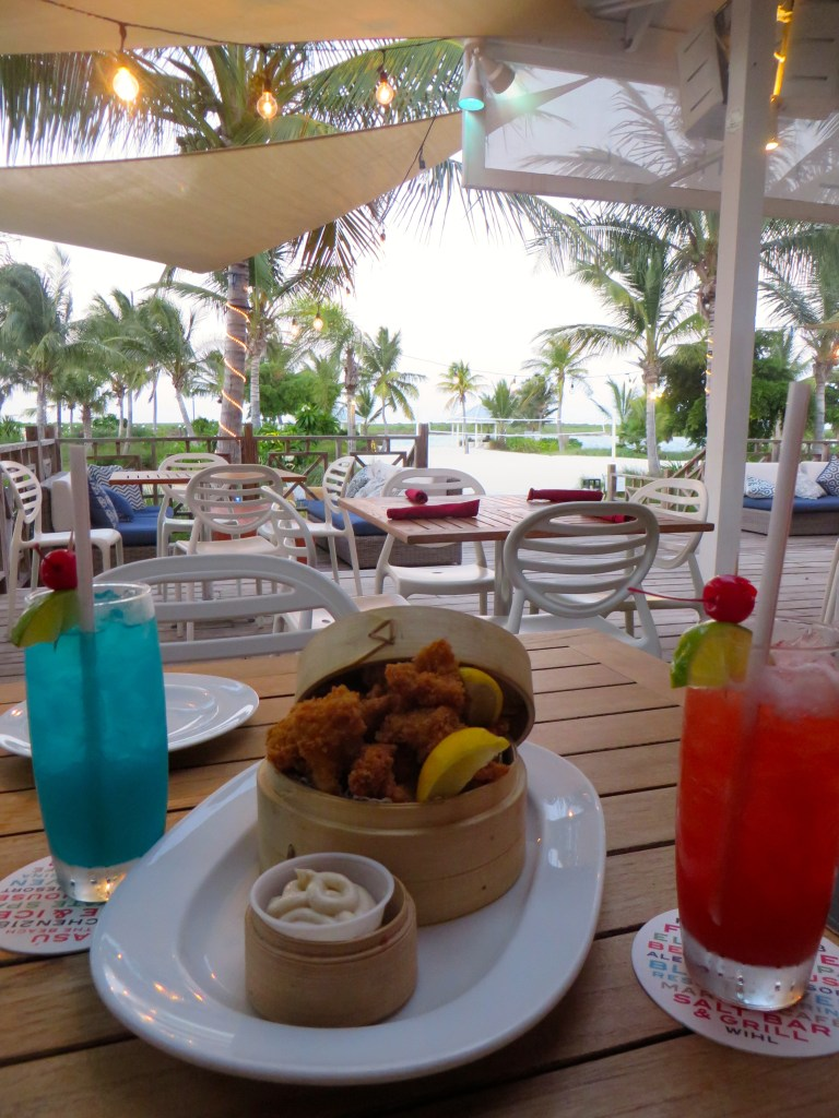Cracked Conch at Salt Bar and Grill at Blue Haven Resort   The Rose Table
