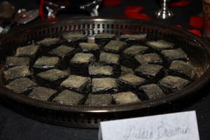 Gilded Brownies | The Rose Table