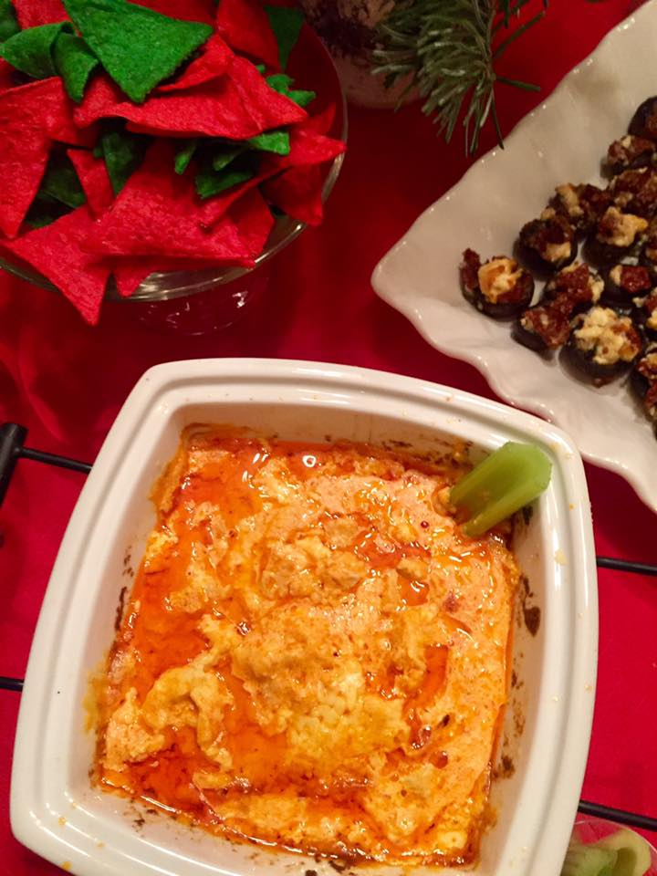 Buffalo Chicken Dip | The Rose Table