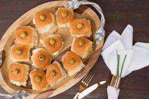 Mini Muffulettas | The Rose Table
