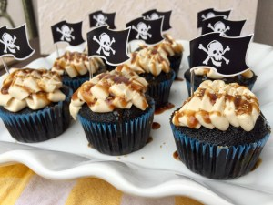 Captain Jack Sparrow Cupcakes | The Rose Table