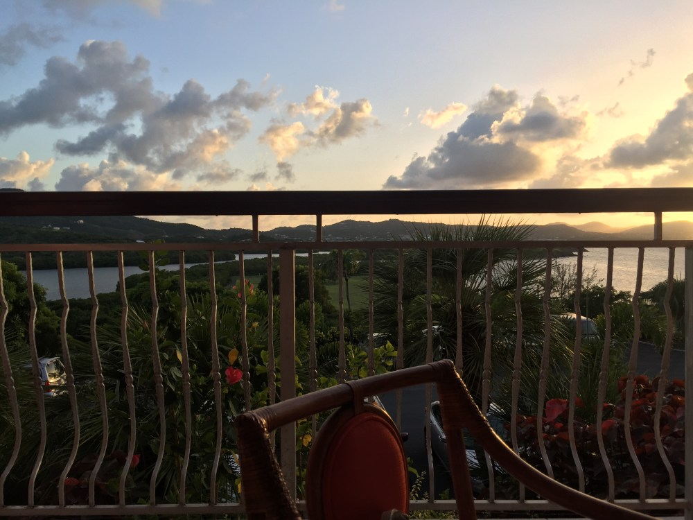 Sunset at The Buccaneer Hotel | The Rose Table