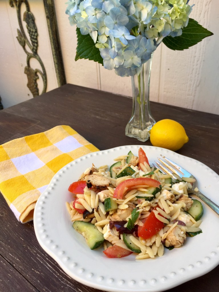Greek Orzo Salad | The Rose Table