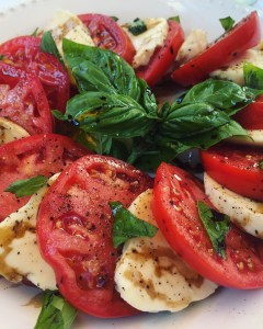 Classic Caprese Salad | The Rose Table
