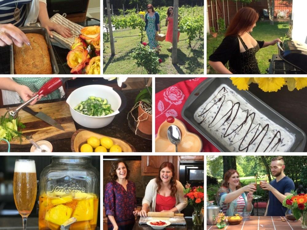 The Rose Table Season One   Food Video Series, Original Recipes
