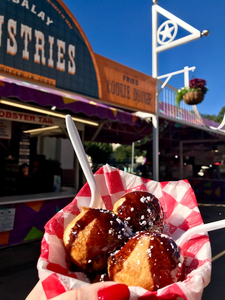 Fried Cookie Dough State Fair of Texas