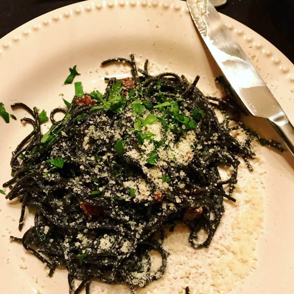 Simple Squid Ink Pasta | The Rose Table