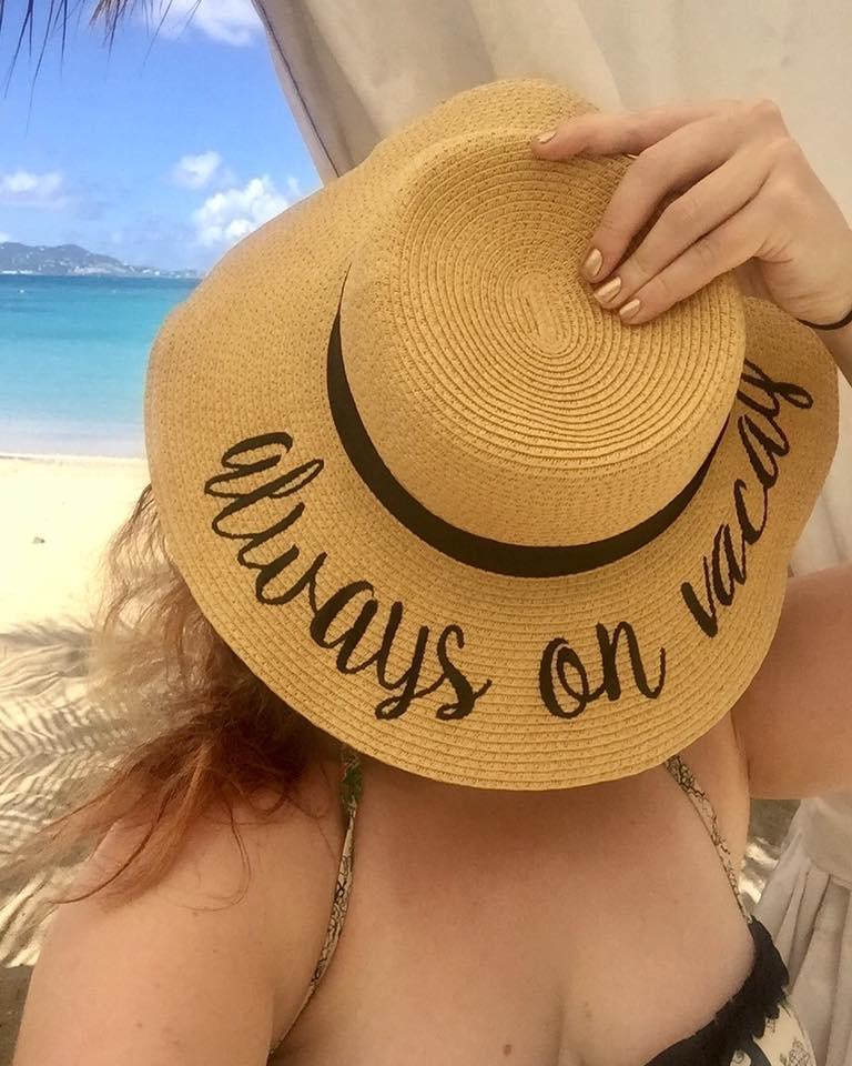 Always on Vacay Hat