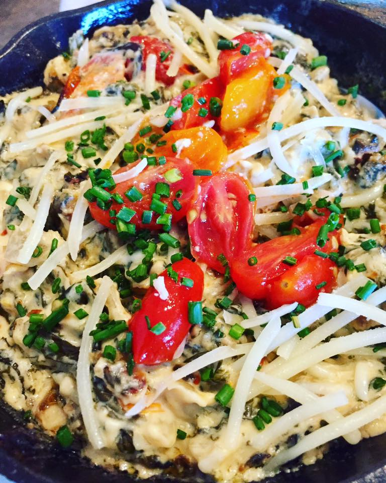 Parmesan Kale Dip | The Rose Table