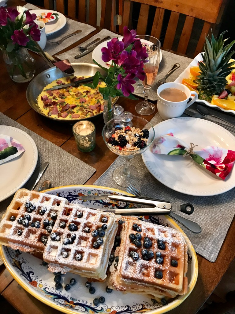 Belgian Waffles | The Rose Table