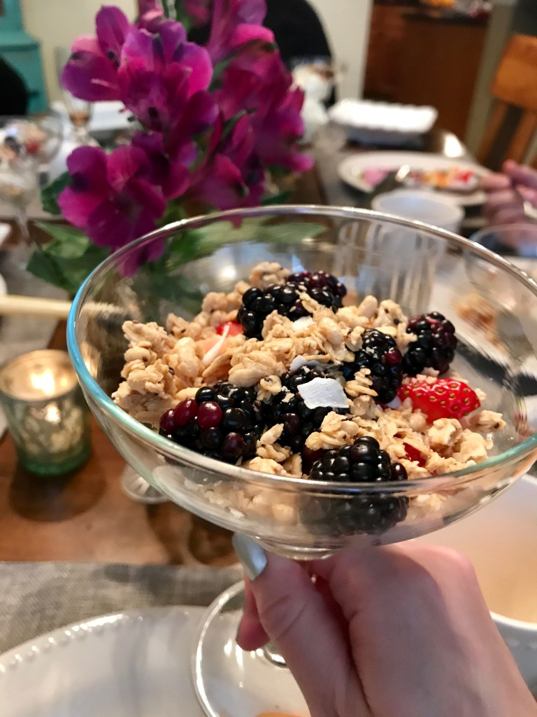 Maple Berry Yogurt Parfait | The Rose Table