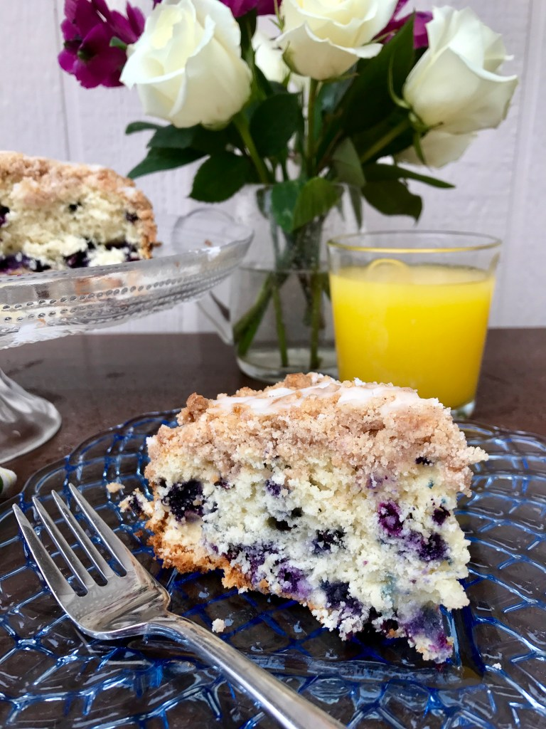 Fiori di Sicilia Blueberry Coffeecake | The Rose Table