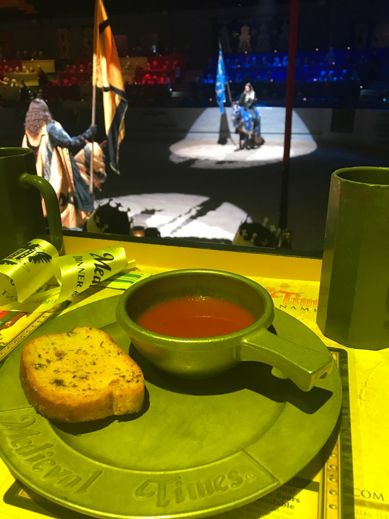 Medieval Times Dallas Review | The Rose Table