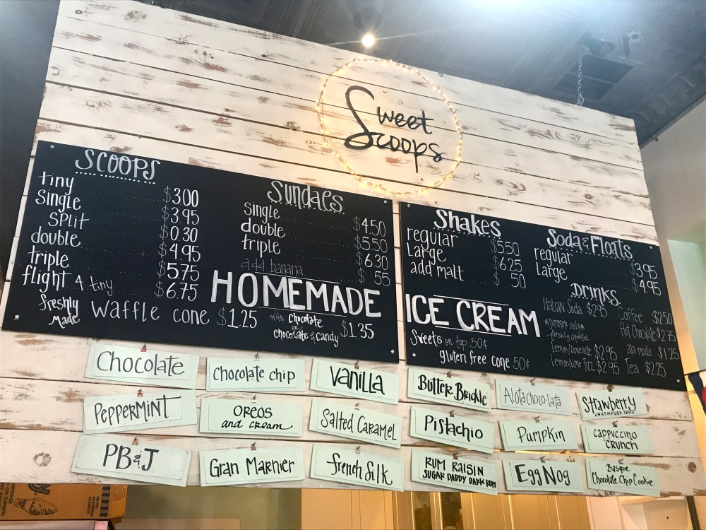 Sweet Scoops Ice Cream Sonoma Review | The Rose Table