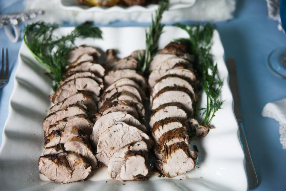 Best Pork Tenderloin Recipe | The Rose Table, Frozen recipes, adult Frozen dinner party
