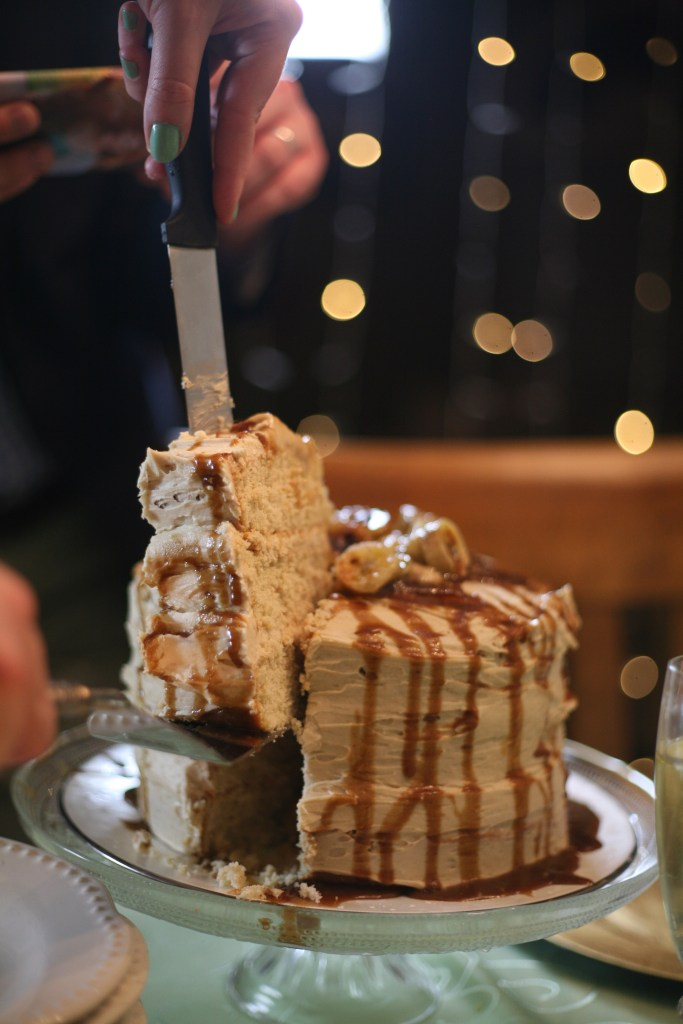Bananas Foster Layer Cake | The Rose Table
