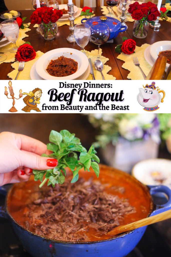 Disney Beauty and the Beast Recipes