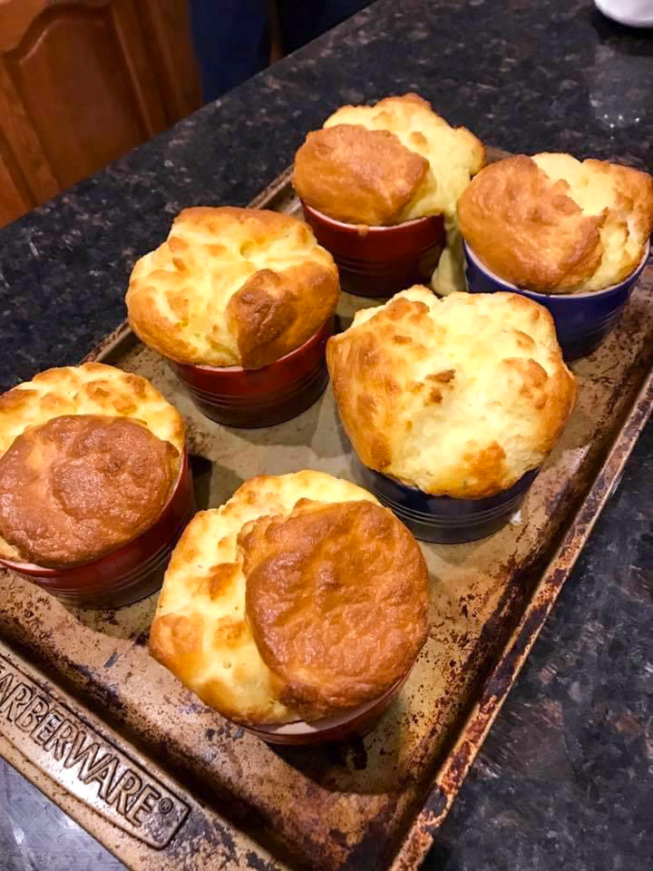 Disney Beauty and the Beast Recipe: Cheese Souffle