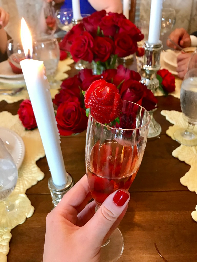 Belle Cocktail Beauty and the Beast | The Rose Table