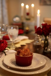 Mini Gruyere and Parmesan Cheese Soufflés Beauty and the Beast Cheese Souffle Recipe | The Rose Table