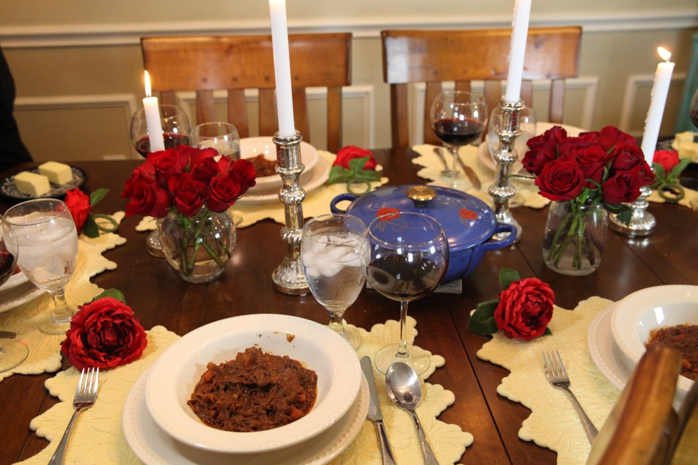 Beef Ragout Beauty and the Beast Recipe   The Rose Table