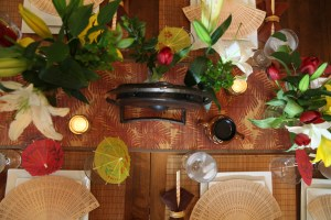 Disney Dinner Party Mulan Recipes | The Rose Table