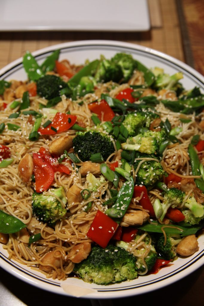 Chicken and Vegetable Stir Fry | The Rose Table