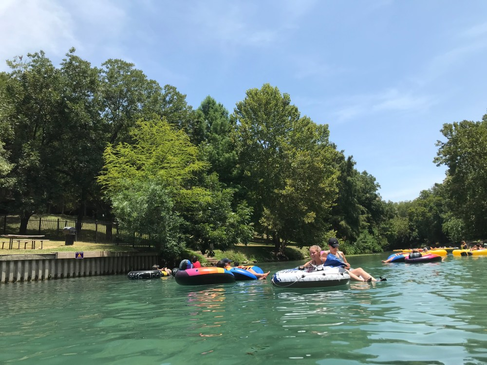 Comal River Tubing | The Rose Table