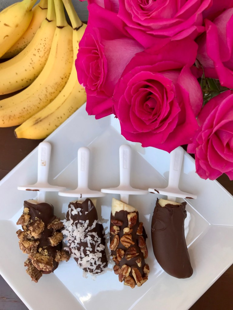 Frozen Bananas Ghirardelli Recipes | The Rose Table