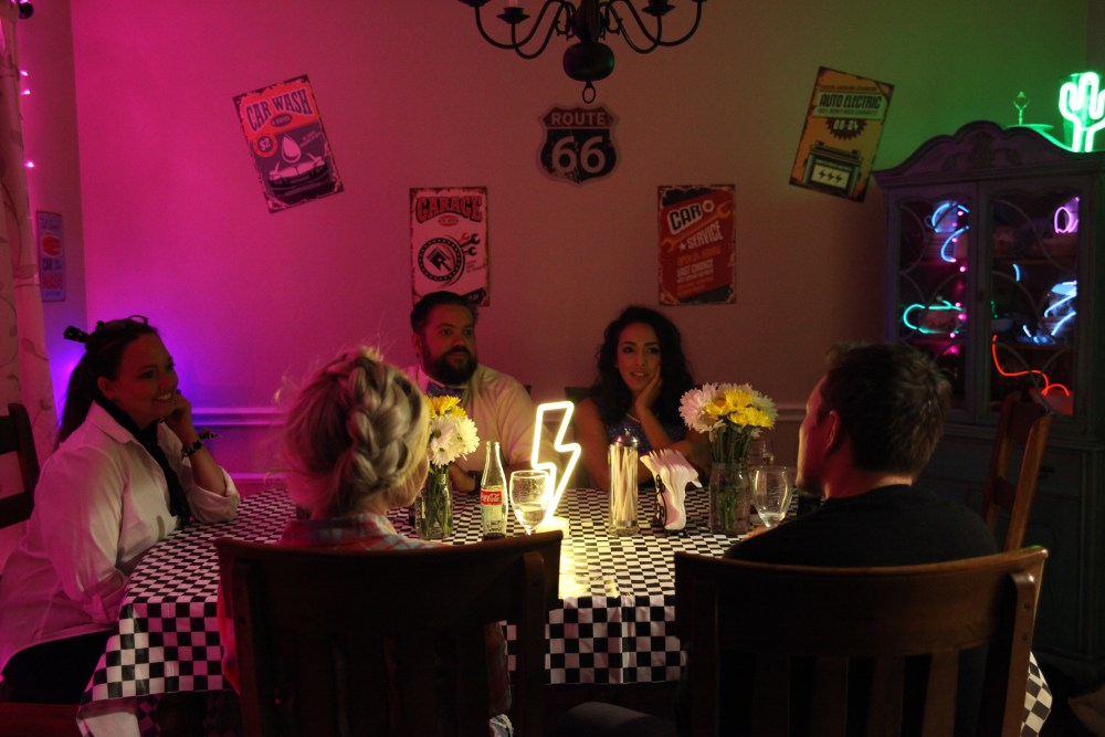 Disney Cars Dinner Party for Adults   The Rose Table
