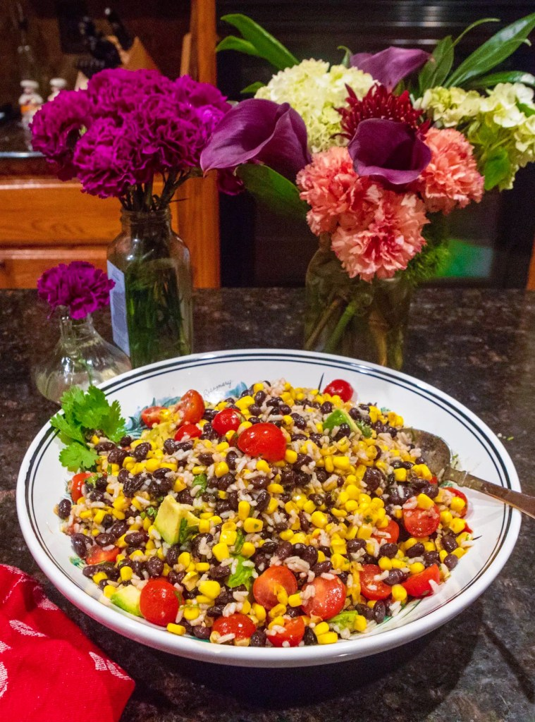 Corn and Black Bean Salad, Easy Mexican Recipes