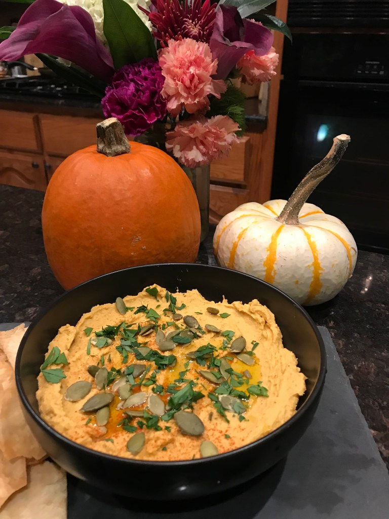 The Best Pumpkin Hummus | The Rose Table