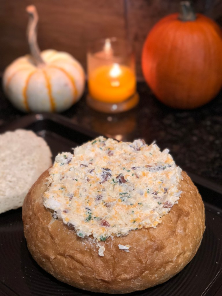 Cauldron Queso, Halloween Party Recipe | The Rose Table